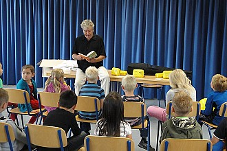 Luebeck - Kinderbuchautor Wolfram Eicke