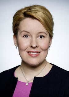 Schirmherrin: Bundesministerin Dr. Franziska Giffey
