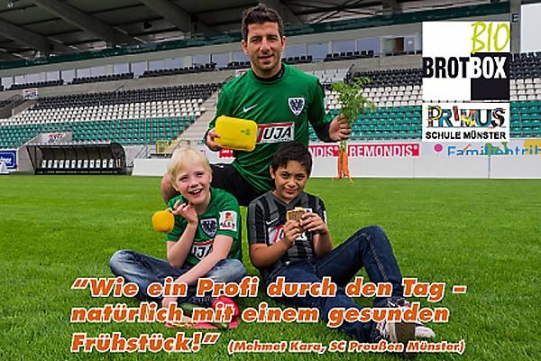 Muenster - Fussballer Mehmet Kara