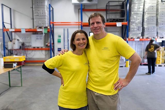 Anke Frenzel und Florian Gerull - Oekofrost GmbH