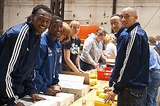 Hannover - Basketballer der UBC Tigers